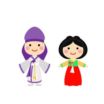 Male and female Hanbok 5