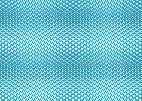 青海波パターン