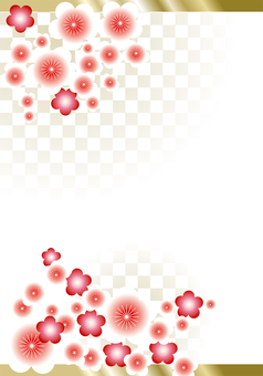 New Year's Pattern Ume 38