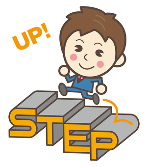 Step Up Jump up the stairs