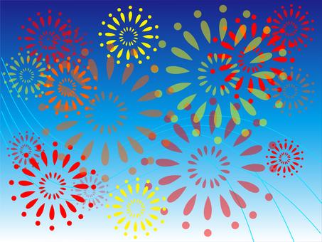 Sparkling fireworks Ⅲ