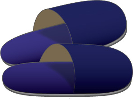 Slippers (blue)