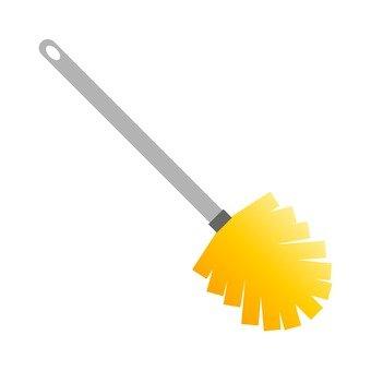 Brush, yellow