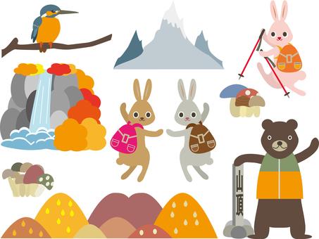Mountaineering 02 (autumn animal C_01)