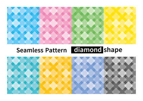 Seamless pattern diamond squares background