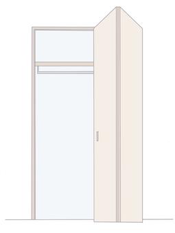 An empty closet