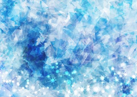 Glitter blue background