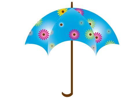 Floral umbrella 6