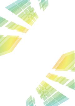 Glass pattern colorful