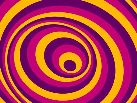 Spiral pattern Halloween version