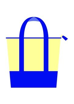 Tote bag (blue)