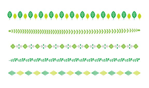 Scandinavian pattern line 03