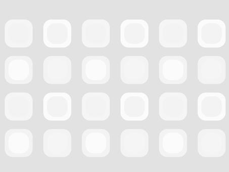 圓角正方形(灰色)