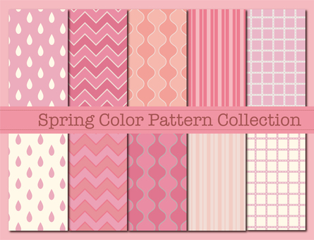Pattern material 83 (Spring color pattern 01)