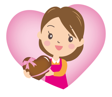 Mama's Handmade Chocolate and Heart 2