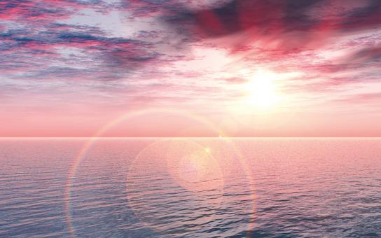 Halo of sea