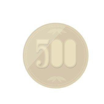 500日元硬幣
