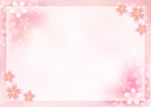 Cherry Blossoms & Frame 20