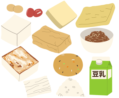 Beans / soy products * Borderless