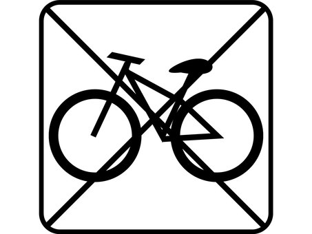 Design bicycle not allowed