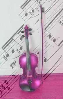보라색 바이올린