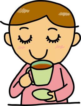 A person who makes a tea