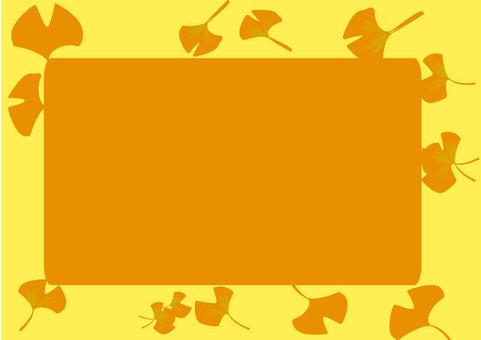 Gingko frame (yellow)