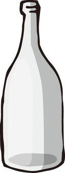 Empty bottle (transparent)