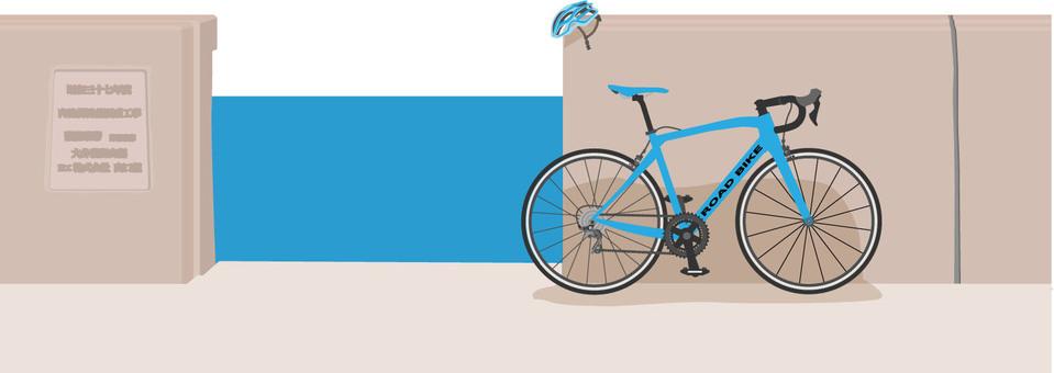제방과 자전거 2