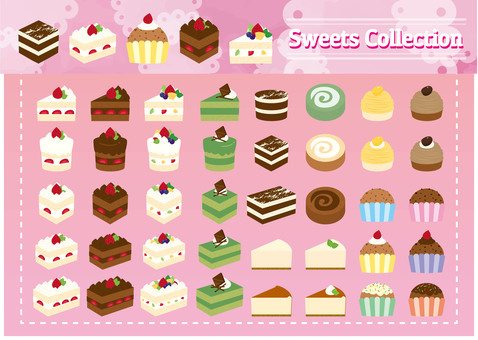 Sweets material 01