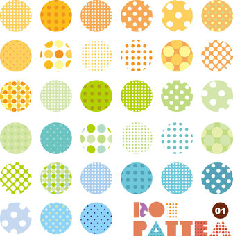 Pattern collection dot 01