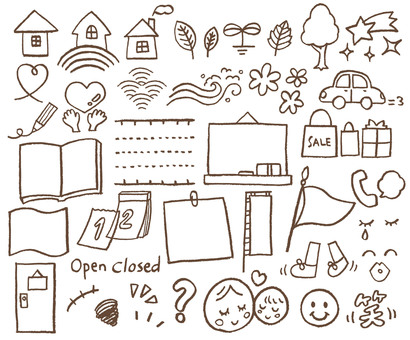 Various pencil icons