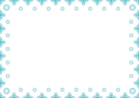 Blue Frame · Flower 2