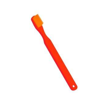 Mountaineering Supplies - Toothbrush (Orange)