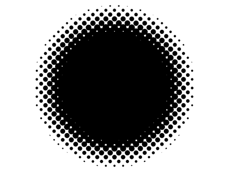 Halftone Circle Dot