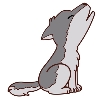 Animal illustrations - Wolf