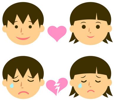 소년과 소녀의 연애 이미지