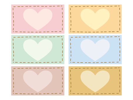 Stitch Heart Square 2