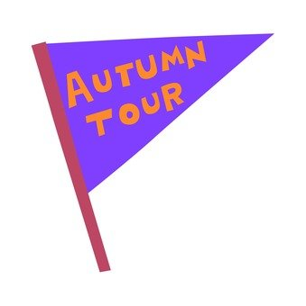 Flag of tour