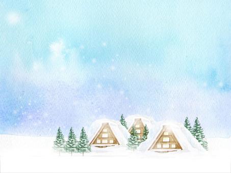 Winter landscape ★ 0293-E