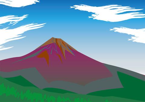 Mt. Fuji (summer)