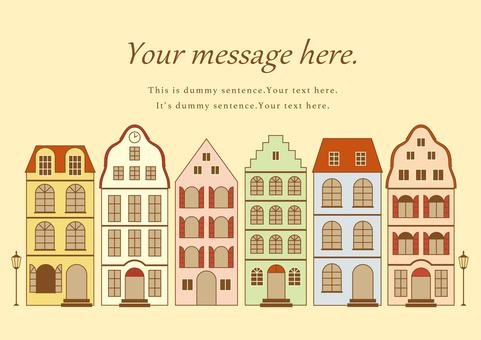 German cityscape color
