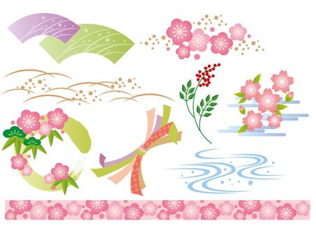 日本风格的材料