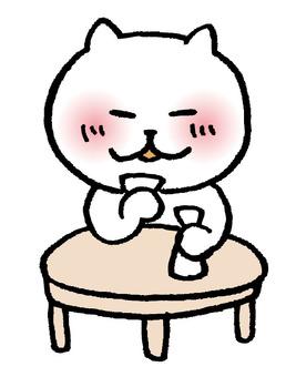 Cat alone wine