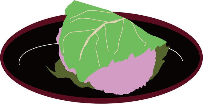 Sakura-laki _ Japanese sweets _ Japanese style _ food 19