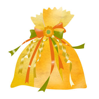 Present orange