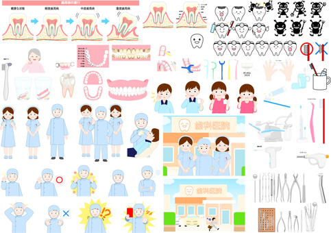 Dentist's icon set