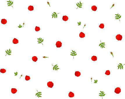 薔薇赤 壁紙