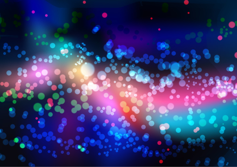 Colorful dark abstract texture glade background