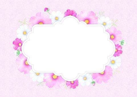 コスモスカード(ピンク)